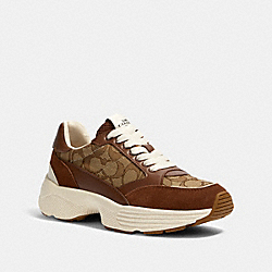 C152 TECH RUNNER - G5057 - KHAKI/SADDLE