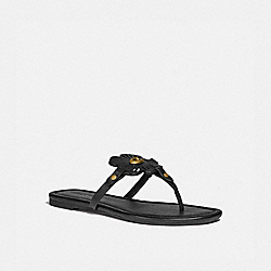 COACH G5058 Julia Sandal BLACK