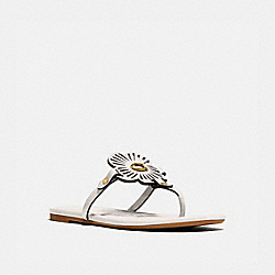 COACH G5058 Julia Sandal CHALK