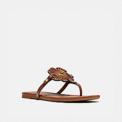 COACH G5058 Julia Sandal 1941 SADDLE