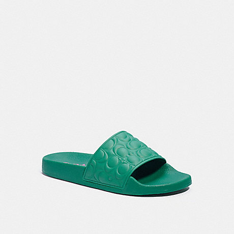 COACH G5062 ULI SPORT SLIDE GREEN