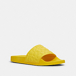 COACH G5062 - ULI SPORT SLIDE YELLOW
