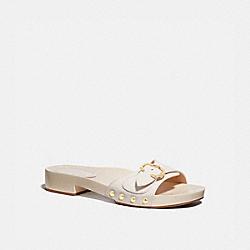 COACH G5078 Bleeker Sandal WHITE