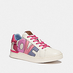 COACH G5101 Lowline Low Top Sneaker CHALK/CONFETTI