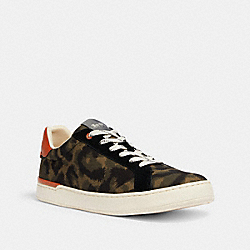 COACH G5110 - CLIP LOW TOP SNEAKER ANIMAL CAMO