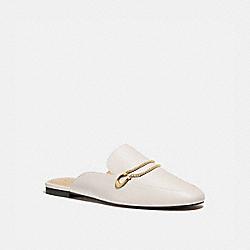 COACH G5165 Sawyer Slide Loafer CHALK