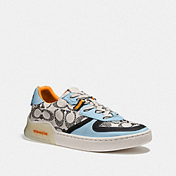 COACH G5234 Citysole Court Sneaker CHALK/WATERFALL