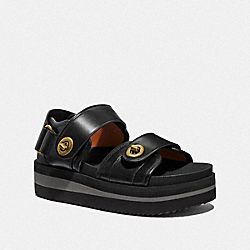 TRAIL SANDAL - BLACK - COACH G5258