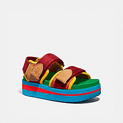 COACH G5260 Trail Sandal MULTI COLOR