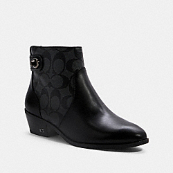 COACH G5300 Deni Bootie BLACK/COAL