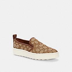 COACH G5311 C115 Slip On Sneaker KHAKI
