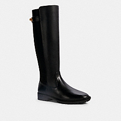 COACH G5318 Fae Riding Boot BLACK