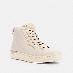 CLIP HIGH TOP SNEAKER - G5366 - CHALK/BLOSSOM