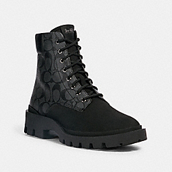 COACH G5529 - CITYSOLE BOOT CHARCOAL/BLACK