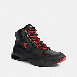 COACH G5573 Coach X Michael B. Jordan Citysole Hiker BLACK NINJA RED