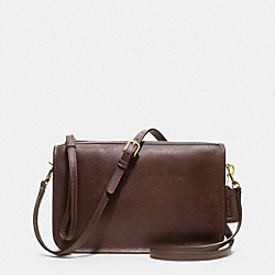 COACH IR9455 Basic Bag In Glovetanned Leather MAHOGANY