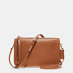 COACH IR9455 Basic Bag In Glovetanned Leather BRITISHTAN