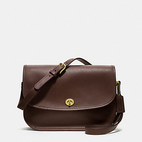COACH IR9790 CITY BAG IN GLOVETANNED LEATHER MAHOGANY