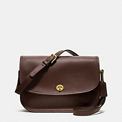 COACH IR9790 - CITY BAG IN GLOVETANNED LEATHER MAHOGANY