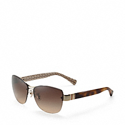 COACH L032 Hayley SPOTTY TORTOISE