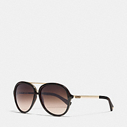 COACH L050 Kendra Sunglasses DARK TORTOISE