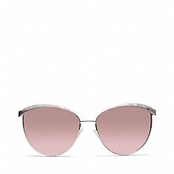 COACH L057 Catrice Sunglasses SILVER