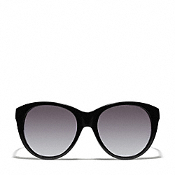 COACH L060 Audrey Sunglasses BLACK/CRYSTAL