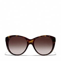 COACH L060 Audrey Sunglasses DARK TORTOISE/CAMEL