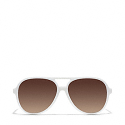 COACH L064 Daisy Sunglasses WHITE