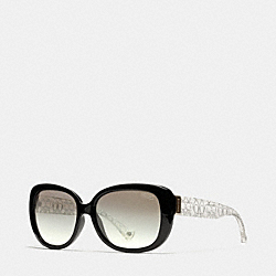 COACH L067 Laurin Sunglasses BLACK