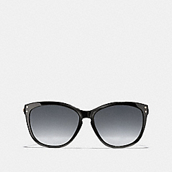 COACH L072 Celia Sunglasses BLACK/GOLD