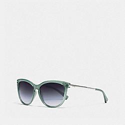 COACH L072 Celia Sunglasses SEAFOAM/SILVER
