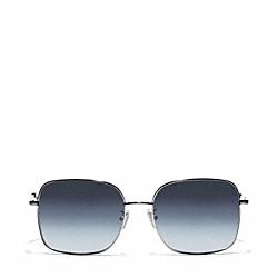 COACH L075 Millie Sunglasses GUNMETAL