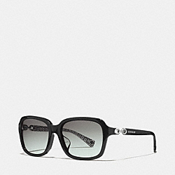 COACH L081 Ashley Sunglasses BLACK