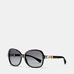 COACH L096 Cole Sunglasses BLACK