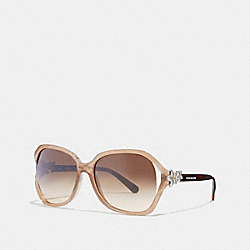 COACH L1033 - INTEGRATION FLOWER SUNGLASSES NJM