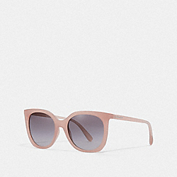 COACH L1086 - ALEXA SQUARE SUNGLASSES MILKY PINK BLUSH