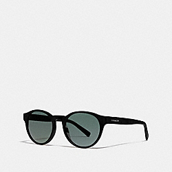 WYTHE ROUND SUNGLASSES - L1095 - BLACK