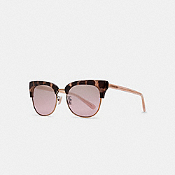 BOBBIE SUNGLASSES - PINK TORTIOSE - COACH L1162