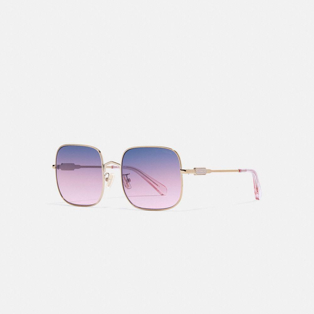 線框方形太陽眼鏡
