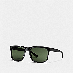 COACH RILEY SQUARE SUNGLASSES - BLACK - L1659
