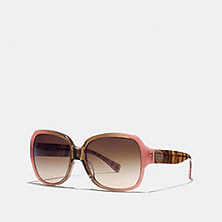 COACH L529 - ASIA FIT BRIDGET SUNGLASSES PINK