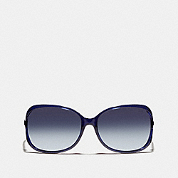 COACH L541 Evita Sunglasses NAVY