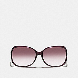 COACH L541 Evita Sunglasses PURPLE