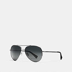 COACH L806 Mercer Sunglasses GUNMETAL