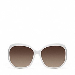 COACH L904 Arabella Sunglasses WHITE