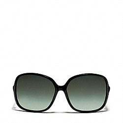 COACH L910 Leann Sunglasses BLACK