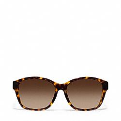 COACH L916 Topenga Sunglasses TORTOISE