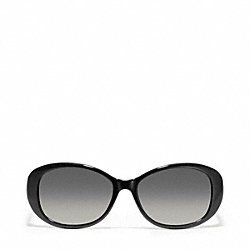 COACH L918 Pollyanna Sunglasses BLACK