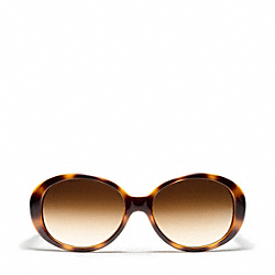 COACH L924 Tracy Sunglasses ORANGE TORTOISE/BLACK
